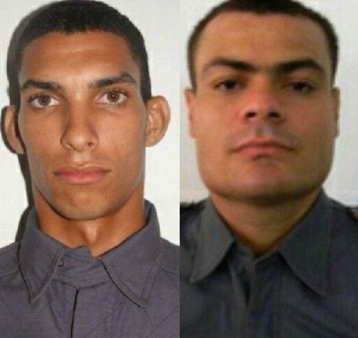 a morte dos policiais mortos Johnny David Chapui Araújo e José Davi Sousa Du Vale