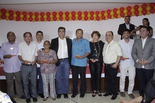 Homenageados 2014 na premiação José Augusto Mochel