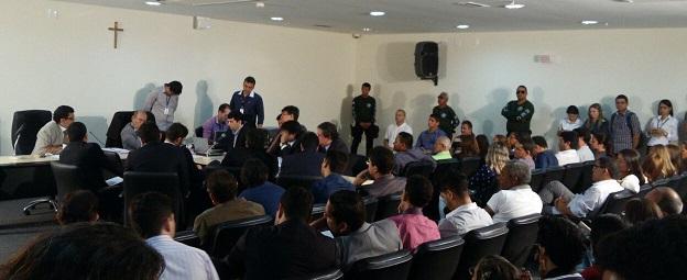 Audiência acontece no Fórum Desembargador Sarney Costa. Advogado Brunno Matos foi morto a facadas no dia 6 de outubro.
