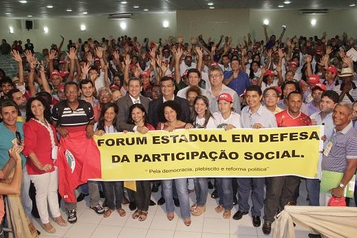 Participação em Forum de Participação Popular