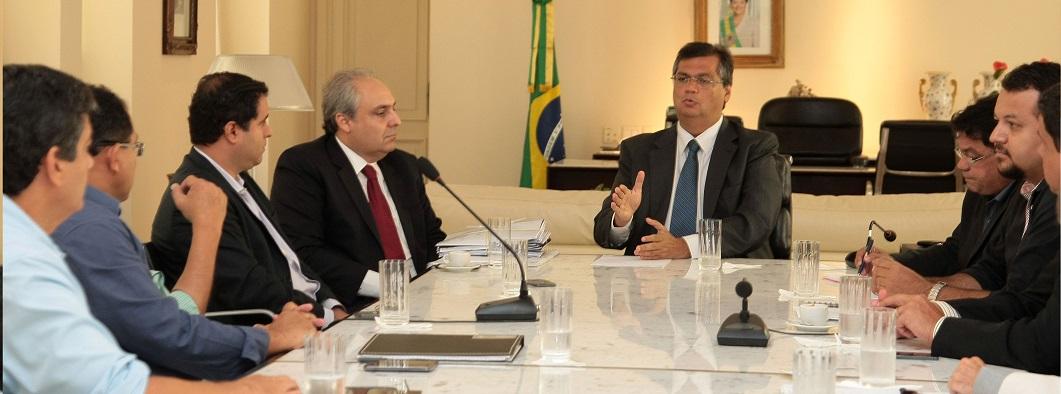 Prefeito Edivaldo e governador Flávio Dino definem medidas para mobilidade na capital
