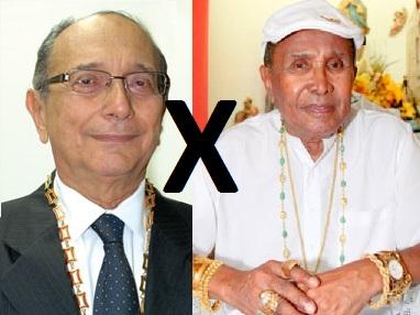 Jornalista Benedito Buzar que tomar o posto de guru da família sarney Pai de Santo Mestre Bita do Barão