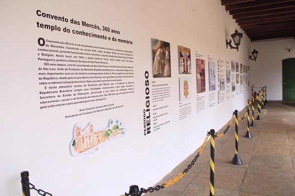 Foto 1 - Exposição no Convento das Mercês