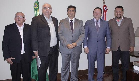 Governador Flávio Dino recebeu diagnóstico da situação das rodovias federais no Maranhão