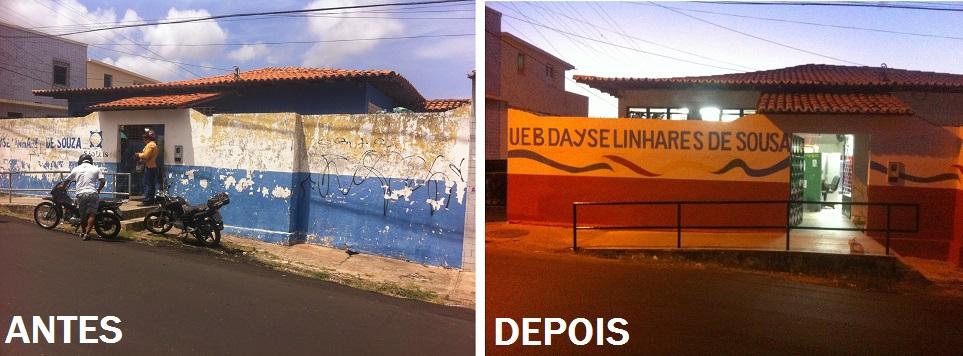 UEB Dayse Linhares - Antes