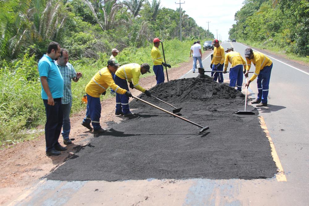 Governo fiscaliza de perto a recuperação da MA 349