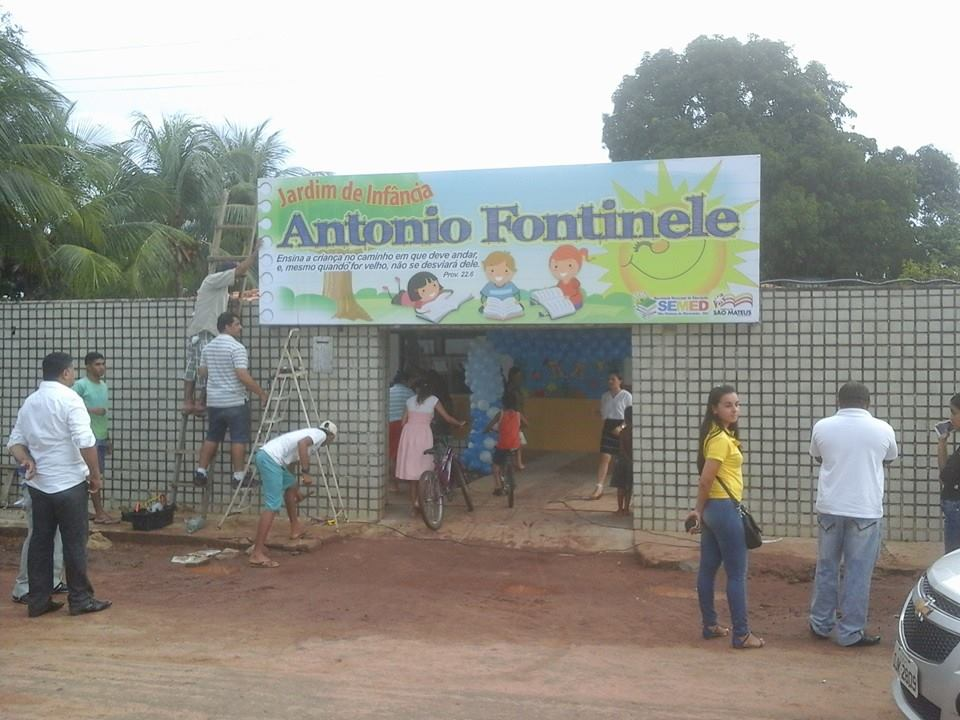 Creche Antônio Fontinele.