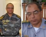 Cel. Edilson Moraes Gomes e Rpsivaldo Costa Ribeiro também foram para reserva