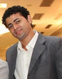 Prof.Josemar(c) com os vereadores Leonardo Bruno e Miau Oliveira