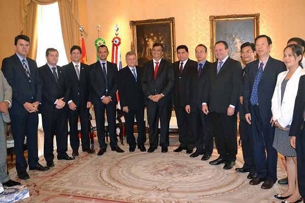 Governador Flavio Dino, Prefeito Alan e investidores da China