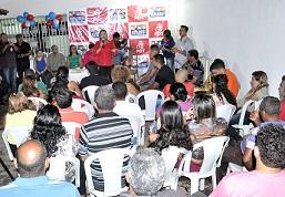 Dialogo nos Bairros primeira edição na Vila Redenção II