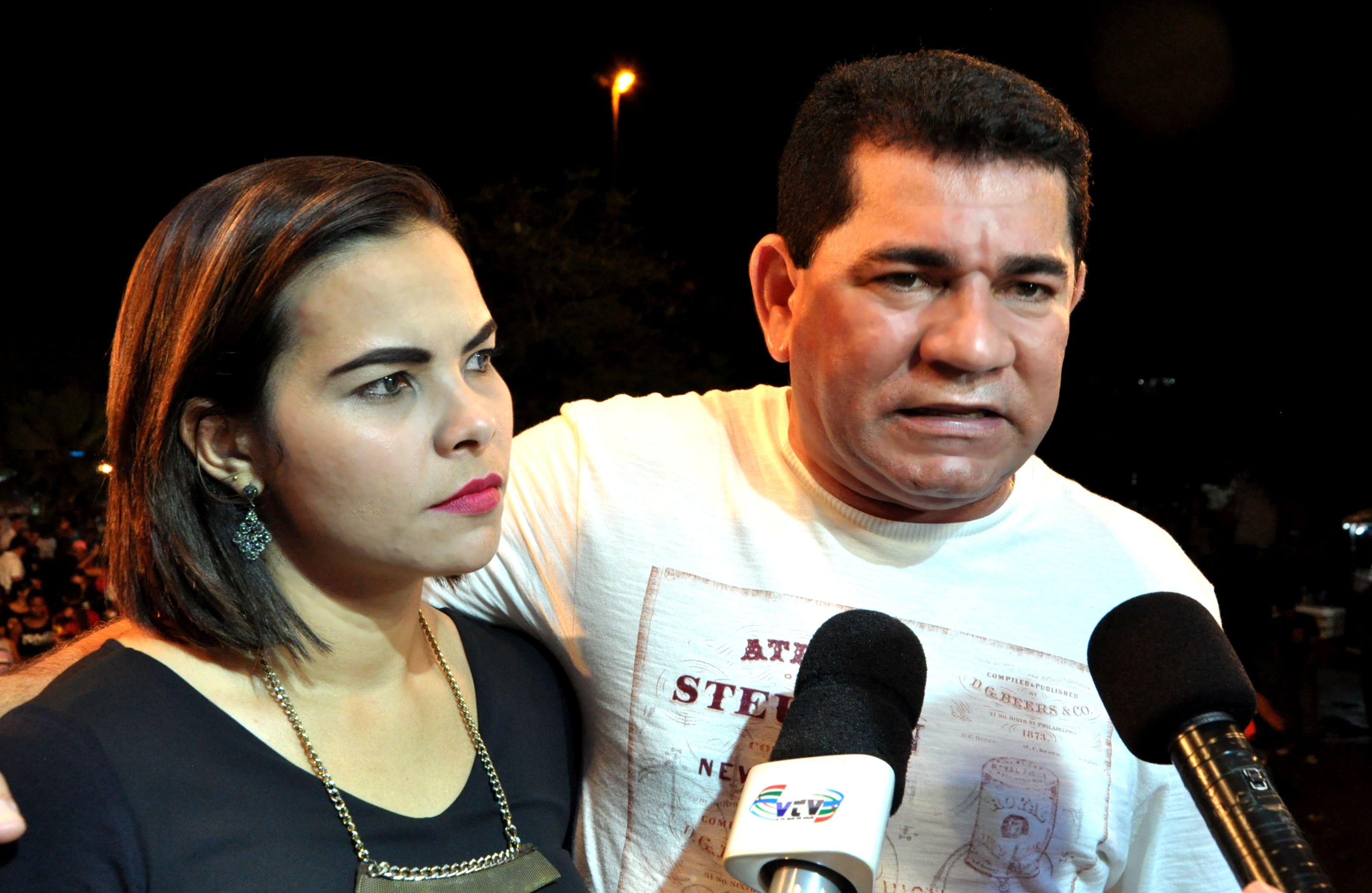 Prefeito Alan e 1ª Dama Patrícia Linhares
