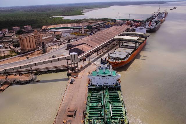 Investimentos aumentam a capacidade de movimentação no Porto do Itaqui. Foto: Divulgação