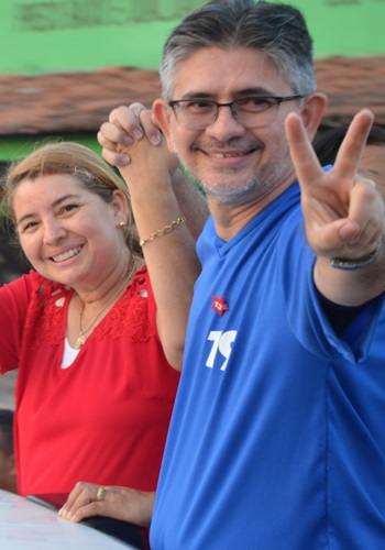 Herlon Costa é esposo de Iracema Vale, prefeita de Urbano Santos.