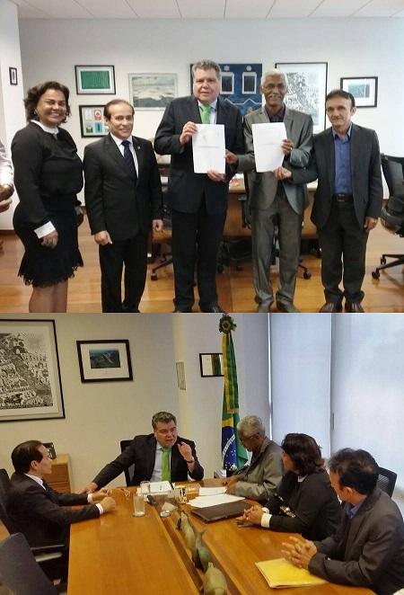 apoio para a desativação dos lixões de Iguaíba e Pindoba,