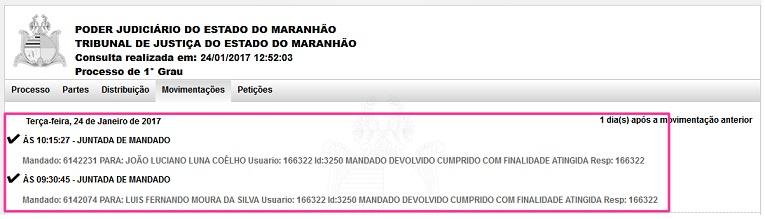 Com o fim do recesso, oficiais de justiça intimaram Luís Fernando ontem (23)
