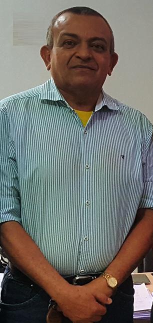 o secretário municipal de Administração e Planejamento, Ualacy Costa Chaves,
