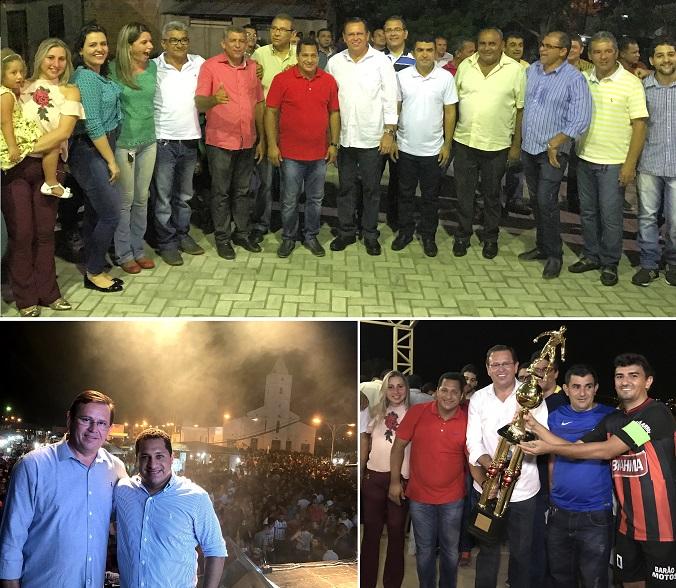 O final da noite foi de alegria e animação na praça com os shows do Toca do Vale, Iohanes e Banda Sedução.