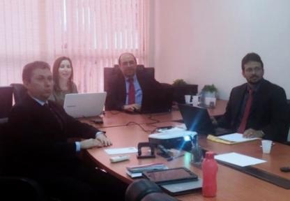 Grupo de juízes discute proposta para a distribuição processual