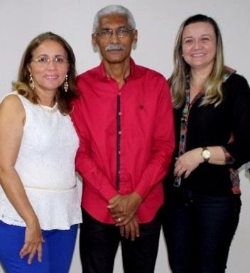 Silvia Maria Costa Amorim, e à nova secretária adjunta de Saúde, Cristina Maria Paixão Matos.
