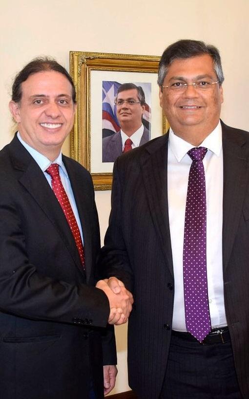 Governador recebe prefeito de Caxias e anuncia transferência de recursos