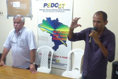 Levado pela Federal, braço direito de Aragão diz que Polícia errou ao invadir o PSDC
