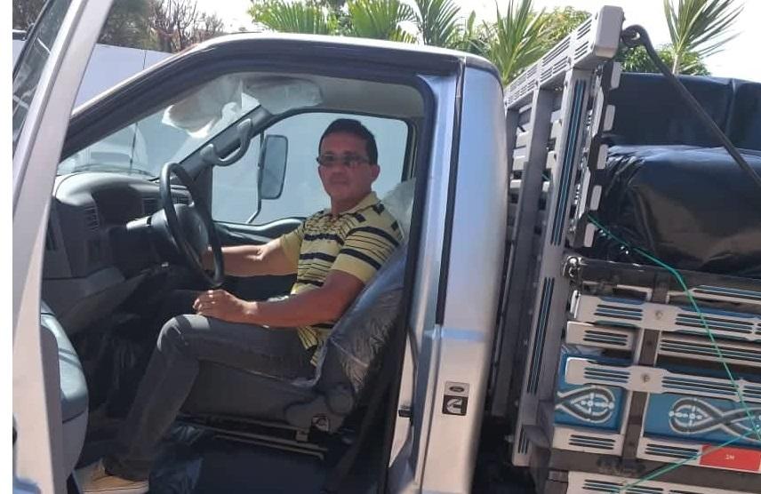 """Edberto no """"caminhão da Codevasf"""""""