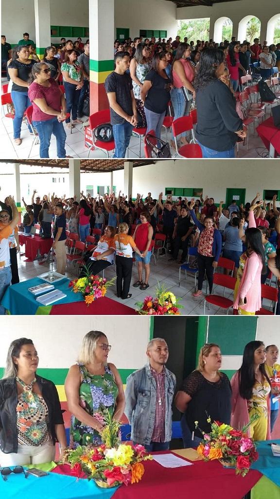 Prefeitura realizou formação dos professores em Santana...