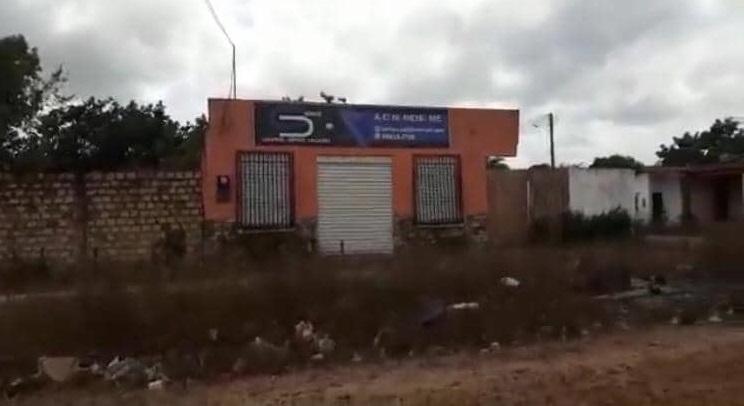 empresa A C N REIS, firma de fachada localizada na periferia da cidade de Bacuri,