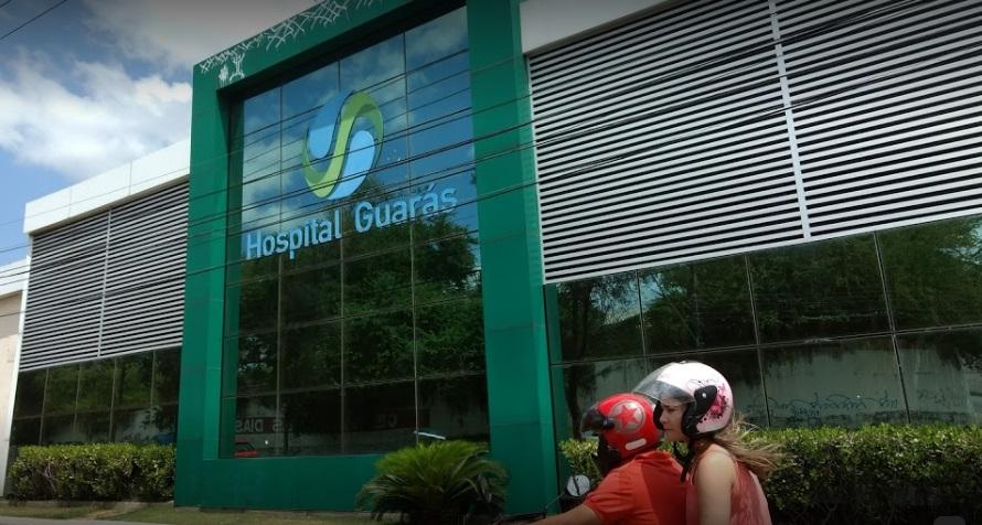 Hospital Guarás fica localizado na Avenida Kennedy, no bairro de Fátima...