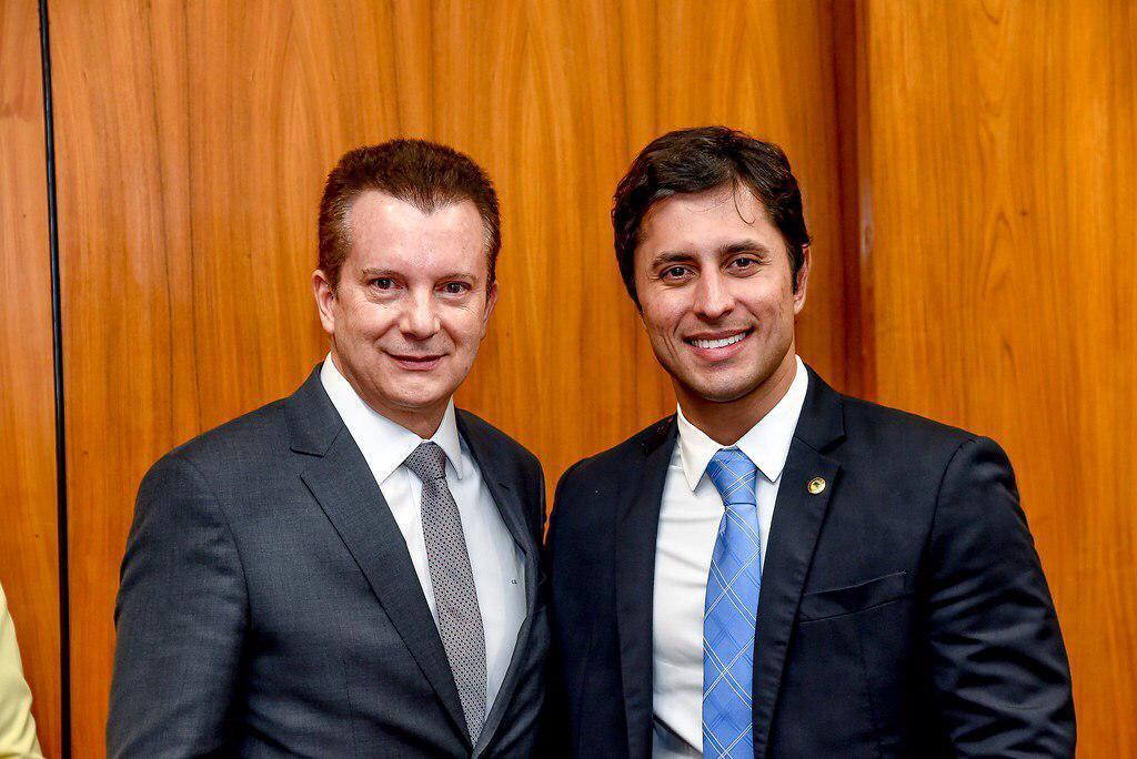 Os deputados Celso Russomanno e Duarte Júnior...