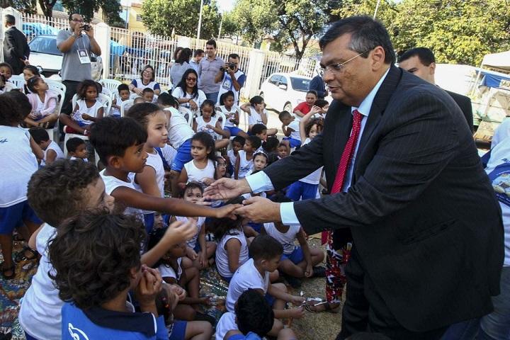 Flávio Dino, governador do Maranhão; estado paga o maior piso salarial para professores do Brasil
