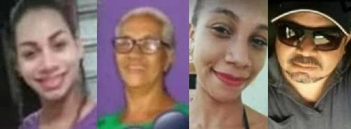 Vítimas fatais do acidente em São João do Caru...