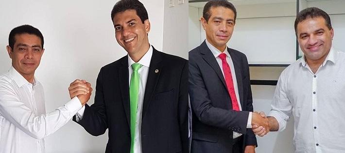 """Deputado foi eleito graças ao desempenho eleitoral de Braide, mas se """"rendeu"""" a Josimar de Maranhãozinho..."""