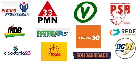 Esses são os partidos que não possuem vereadores em seus quadros na capital maranhense: PP, PSB, Cidadania, MDB, PV, Patriota, PMN, Solidariedade, Psol, DC, Novo e Rede.