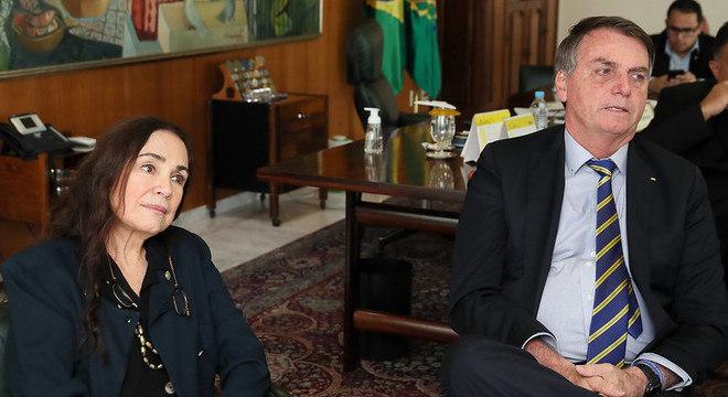 Regina Duarte deixou secretaria especial de cultura