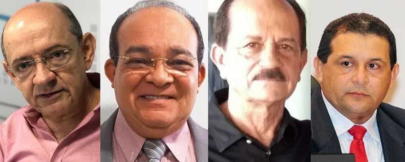 Em 2020, os candidatos consolidados em Ribamar são: Eudes, Beto, Julinho e Jota Pinto...