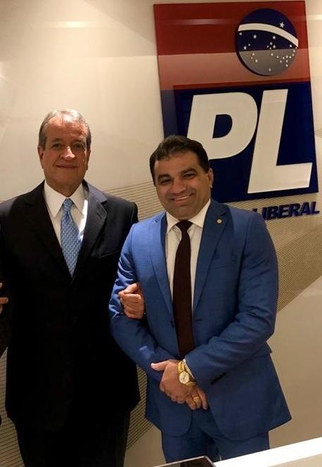 Josimar de Maranhãozinho é homem da confiança de Valdemar Costa Neto; um presidente o PL no Brasil e o outro no MA...
