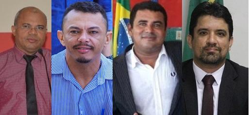 Câmaras Municipais declaradas inadimplentes pelo TCE: Poção de Pedras, Água Doce, São R. Doca Bezerra e Luís Domingues.