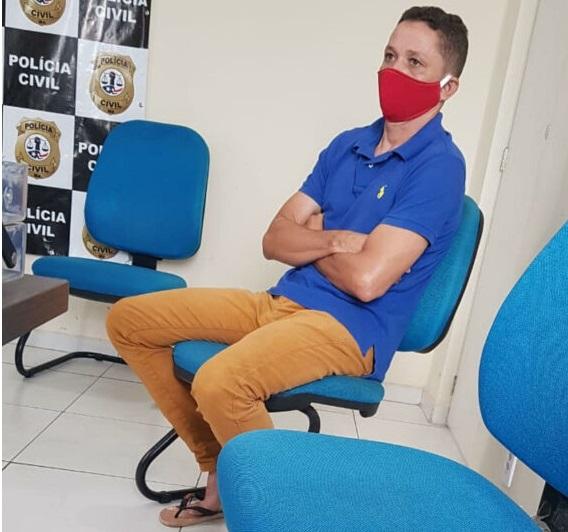 Raimundo Diniz revelou detalhes do crime ao se apresentar à polícia...