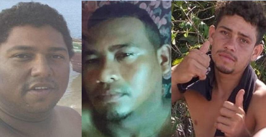 Gugu Maranhão; André Veras e Lucas dos Santos, todos moradores de Raposa, estão desaparecidos…