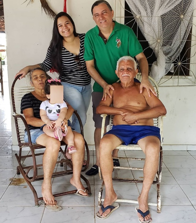 Registro fotográfico foi publicado no Instragram de Júnior Verde