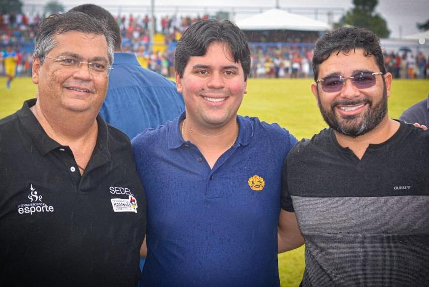 Dr. Júnior é o candidato de André Fufuca e tem em seu palanque o PCdoB, do governador Flávio Dino...