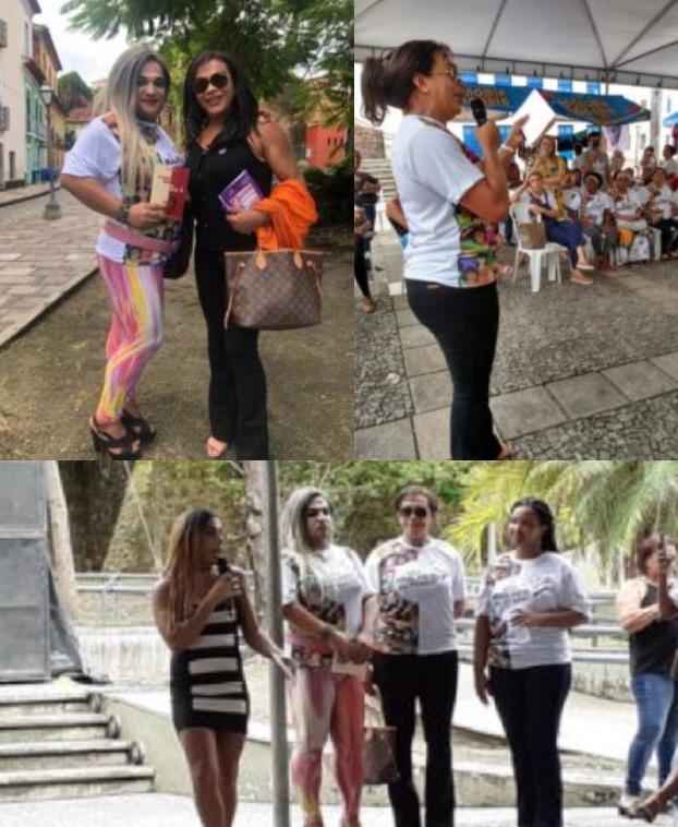 Raíssa Mendonça luta para que a população LGBT tenha seus direitos respeitados.