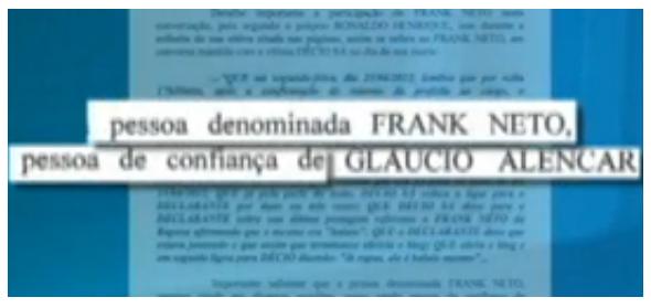 Entre outras funções na rede de agiotagem, Flanklin Neto seria uma pessoa de confiança de Gláucio para intermediar negócios com prefeitura, principalmente, de Paço do Lumiar na gestão da Prefeita Bia Venâncio.