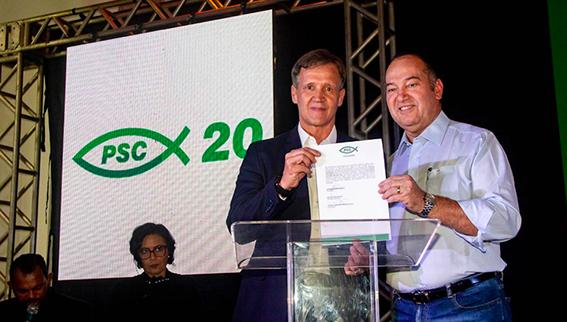 Aluísio Mendes é presidente do partido do pastor preso por corrupção...