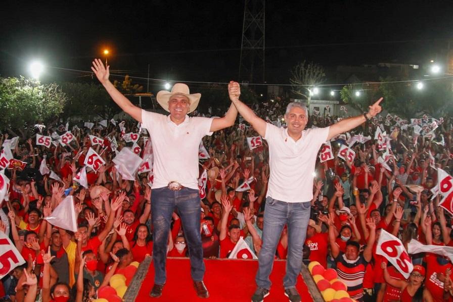 Prefeito de Lago da Pedra, Laércio Arruda, confirmou o favoritismo à reeleição ao realizar convenção histórica no último sábado.