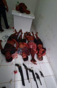 Cinco criminosos que faziam assalto usando barcos são mortos no interior do Maranhão