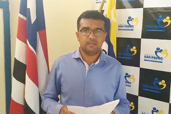Lahesio Bonfim: O prefeito das Fazendas...