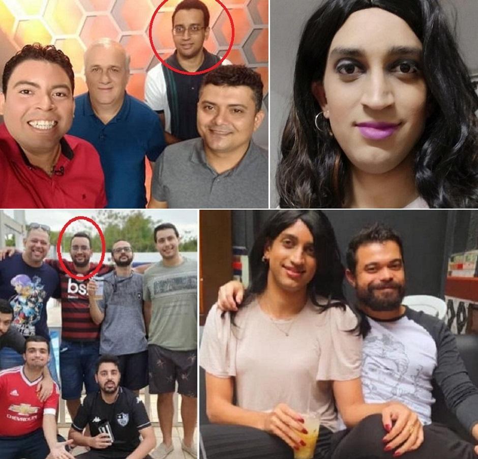 Jornalista esportivo mudou radicalmente seu estilo de vida, assumiu homossexualidade, deixou o Maranhão e foi morar em São Paulo..